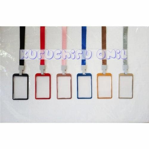 Foto Produk Aluminium ID Card Holder with lanyard / Tempat ID Card Aluminium dari Onil
