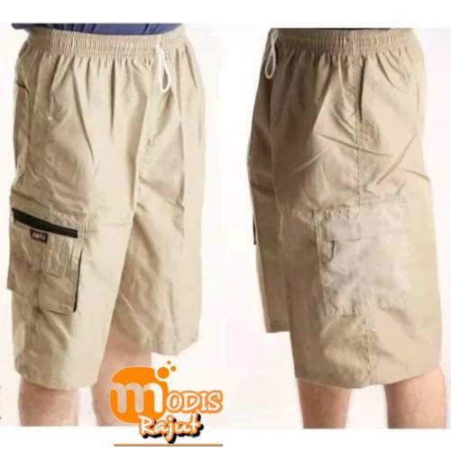 Foto Produk Celana Cargo Pendek 7/8 Katun Boss - STD dari Modis Rajut