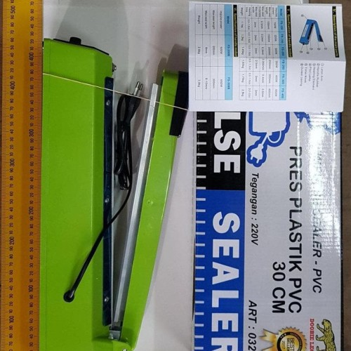 Foto Produk OBRAL Alat Press Plastik Plastic Sealer Impulse Sealer 30 cm dari putriarizashop