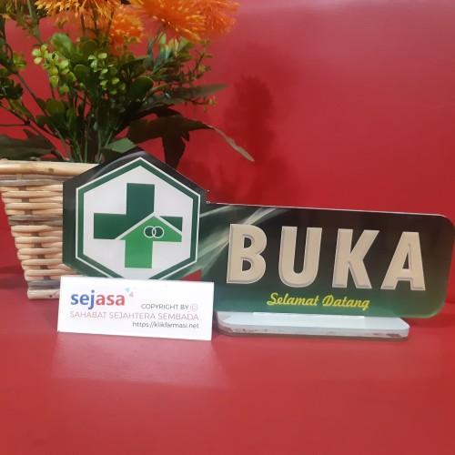 Foto Produk Akrilik Buka Tutup Pendaftaran dari Syafana