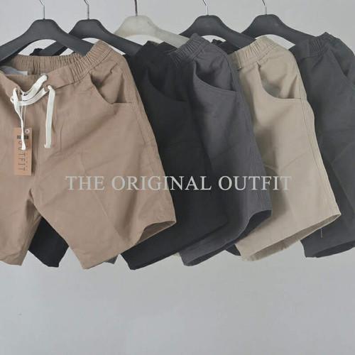 Foto Produk Celana Pendek Skinny The Original Outfit - Hitam, 30 dari JarshOfficial
