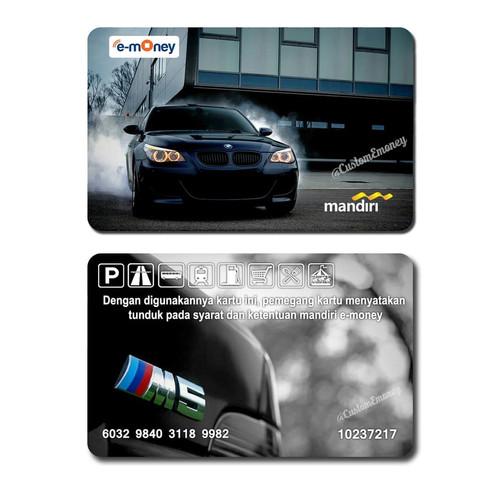 Foto Produk (2 SISI) MINIMAL ORDER 10 PCS emoney custom mandiri design bebas !!! dari emoney custom kartu