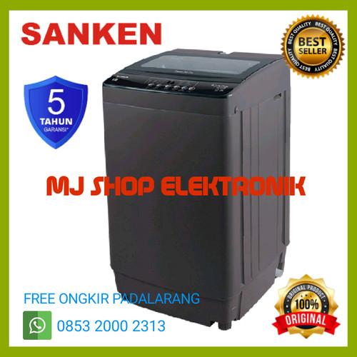 Jual Mesin Cuci 1 Tabung Sanken Aw S 887 Gs Top Loading 8 Kg 4d X Tor Tech Kab Bandung Barat Mj Shop Elektronik Tokopedia