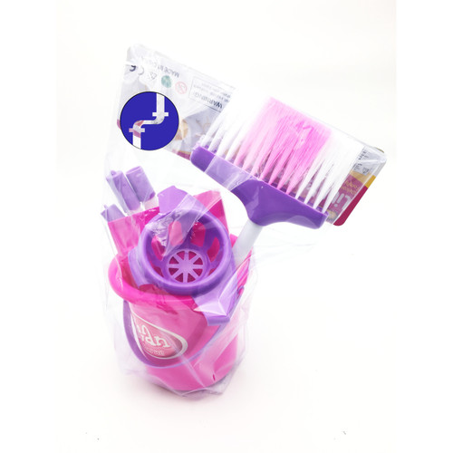 Foto Produk Mainan Anak CLEANING SET KANTONG - MAINAN SAPU SAPUAN LITTLE HELPER dari Toko-Ku by FAS-TOP