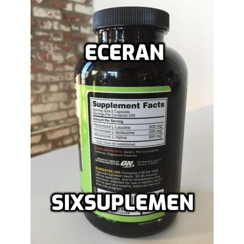 Foto Produk On Optimum Nutrition Bcaa Eceran dari SixSuplemen