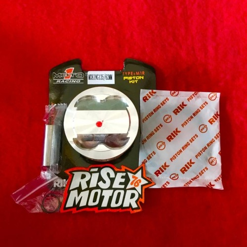 Foto Produk Piston Moto 1 62 pen 14 M1R Mx King dari risemotor