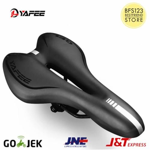 Foto Produk Sadel Sepeda Yafee Silicone Gel Empuk Kualitas Premium - Hitam dari bfs123
