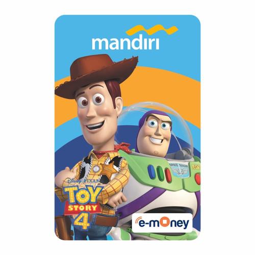 Foto Produk MANDIRI E-MONEY SPECIAL EDITION TOY STORY WOODY & BUZZLIGHTYEAR dari Mandiri E-Store