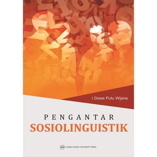 Foto Produk Pengantar Sosiolinguistik dari UGM Press Online
