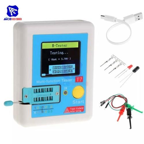 Foto Produk LCR-T7 Transistor Tester TFT Diode Triode Capacitance Meter LCR ESR El dari Digitalmas