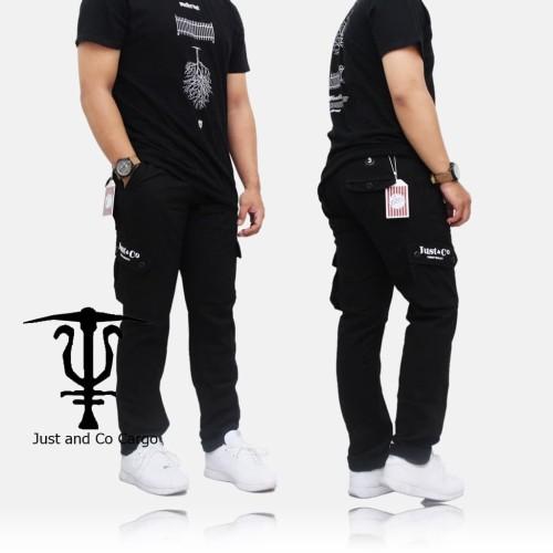 Foto Produk CELANA CARGO PANJANG ORIGINAL JUST&CO dari romifootwear