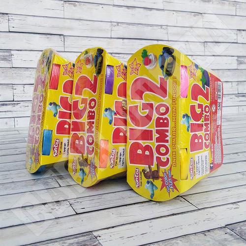 Foto Produk Fun Doh BIG COMBO 2 Refill - Lilin Mainan Anak FunDoh PlayDoh Play Doh - WARNA ACAK dari Casa Unika