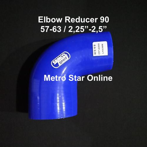 """Foto Produk Samco Elbow Reducer 90 / 2,25"""" - 2,5"""" dari Metro Star Online"""