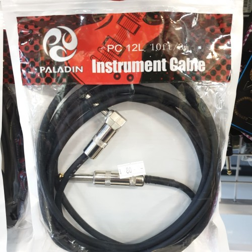 Foto Produk Kabel Jack Gitar Kabel Instrument Jack Gitar PALADIN PC 12L PC12L 3M dari TIPTOP MUSIK&SOUNDSYSTEM