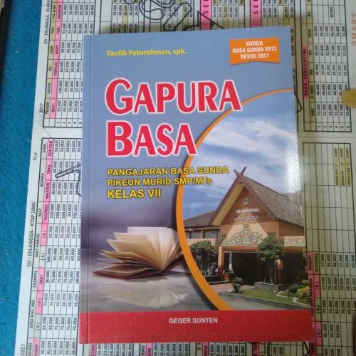 Foto Produk Buku Pelajaran Gapura Basa SMP Kelas 7 dari Toko buku smart no 105