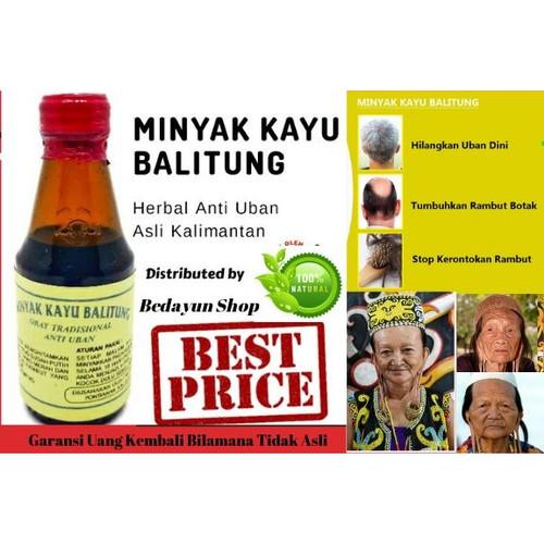 Foto Produk Minyak Kayu Balitung KALIMANTAN-obat uban, penghilang uban, serum anti dari bedayun shop