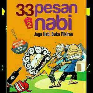 Foto Produk Buku Filosofi MURAH 33 PESAN NABI VOL 2 dari Pak mansur