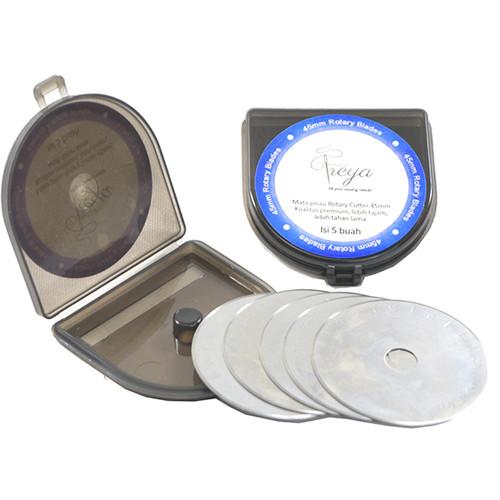 Foto Produk Refill Blade - Mata Pisau Pengganti Rotary Cutter 45mm FREYA Grade AAA dari Service Jaya Supply
