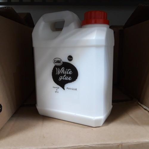 Foto Produk lem putih LATTE white glue 1 liter PVA tofu SLIME dari stationeryonline