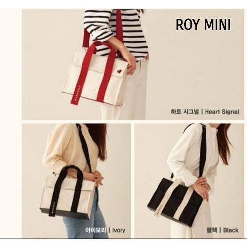 Foto Produk Marhen J Roy Mini | Tas Canvas Asli | Korean Original Bag - Black dari Hai_Shop