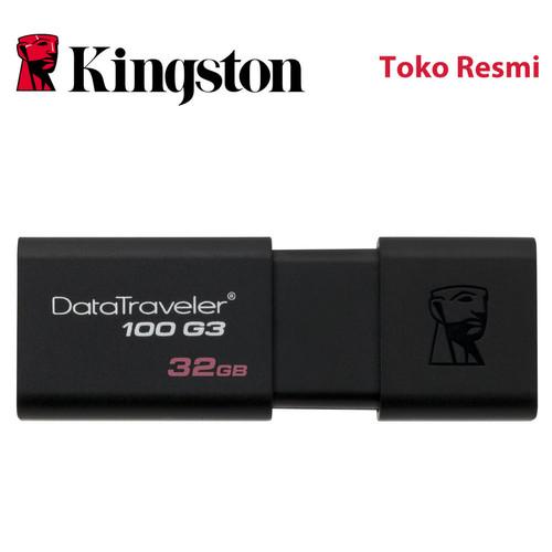 Foto Produk Kingston Flash Disk DataTraveler 100 G3 32GB USB3.1 dari Kingston Official Store