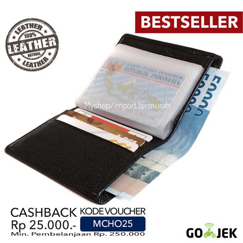 Foto Produk DOMPET KARTU CARD HOLDER KULIT ASLI IMPORT BRANDED | BRAUN BUFFEL CC01 dari Toko Import Termurah