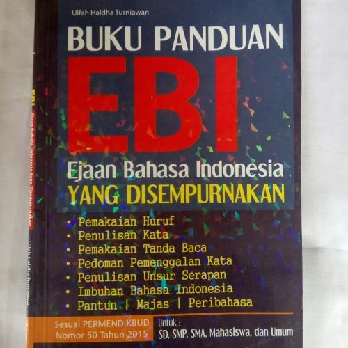 Foto Produk Buku Panduan EBI Ejaan Bahasa Indonesia yang Disempurnakan dari Toko Buku Pintar 29
