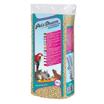 Foto Produk Pets Dream Universal 15kg Litter Pellet Paper Kertas Serap Kencing dari Hime petshop