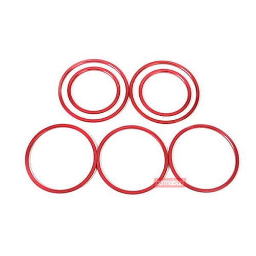 Foto Produk Permaisuri Air Vent Ring W205 - Red dari PERMAISURI