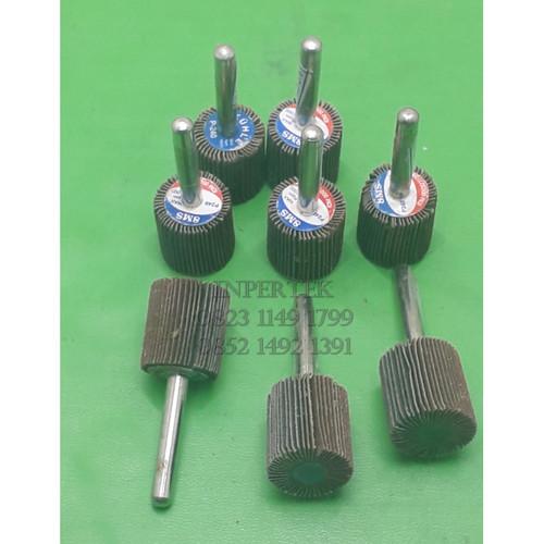 Foto Produk Mata Gerinda Amplas   Tunner Amplas   Tuner Flap Wheel   Amplas Susun dari Teknikloak