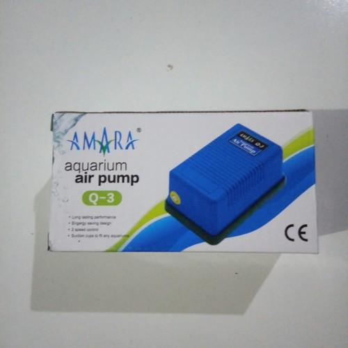 Foto Produk Pompa Udara Aquarium Aquascape Amara Q3 Q-3 dari saungikan juga