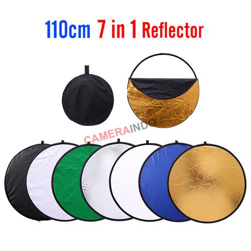 Foto Produk Reflektor Portabel / Portable Reflector 110cm 7 in 1 Studio Fotografi dari SMN Official