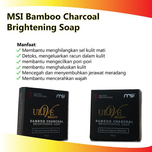 Jual Sabun Bamboo Charcoal Sabun Jerawat Sabun Muka Msi Original Jakarta Timur Parahiyangan Herbal Tokopedia