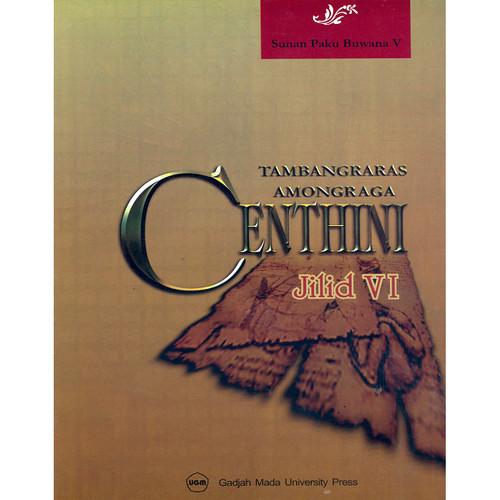 Foto Produk Centhini Tambangraras-Amongraga Jilid VI dari UGM Press Online