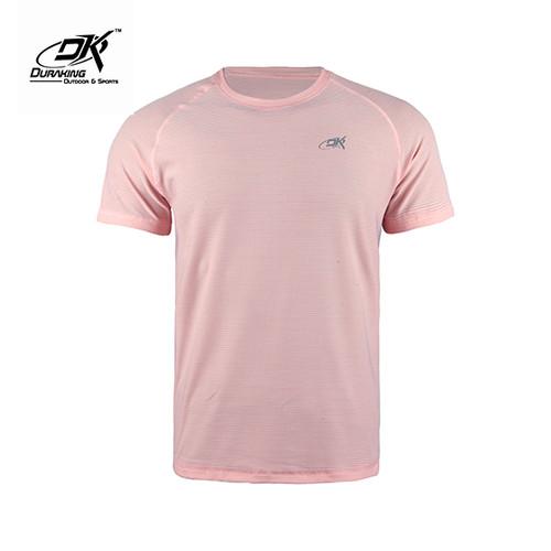 Foto Produk Running Jersey - DK Basic Color Tee Man Pink - M dari Duraking Outdoor&Sports