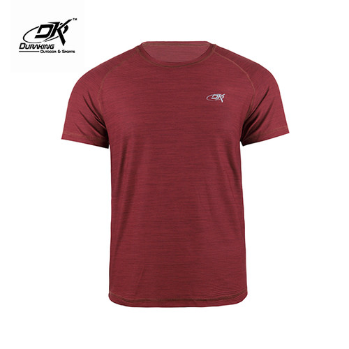Foto Produk Running Jersey - DK Basic Color Tee Man Maroon - M dari Duraking Outdoor&Sports
