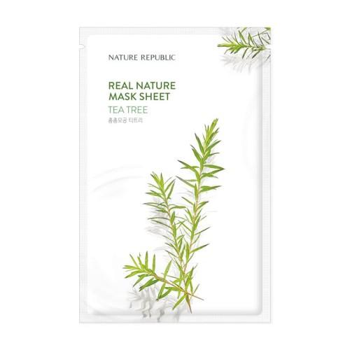 Foto Produk Real Nature Tea Tree Mask Sheet dari NATURE REPUBLIC OFFICIAL