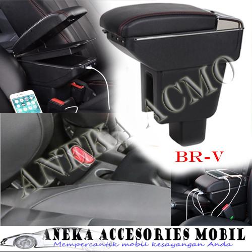 Foto Produk Console Box Armrest box Arm Rest 7 USB 7USB Luxury Honda BRV BR-V dari ANEKA ACCMO
