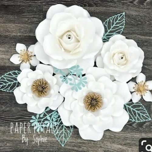 Foto Produk Paper Flower Set dari Paper Flower NR