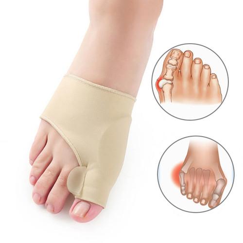 Foto Produk Bunion Corrector Hallux Valgus Terapi Big Toe Separator Silikon Insole - Harga 1 Pasang dari kioscasing