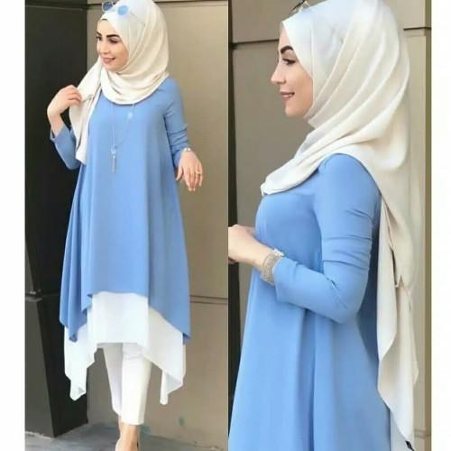 Foto Produk Pakaian Baju Busana Muslim Atasan Wanita Tunik KALITA Terbaru Termurah dari Zy's Distro