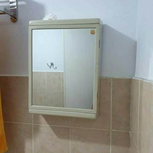 Foto Produk Rak Dinding Kamar Mandi Cermin Dinding Serbaguna Maspion MK-2 dari makwaolshop