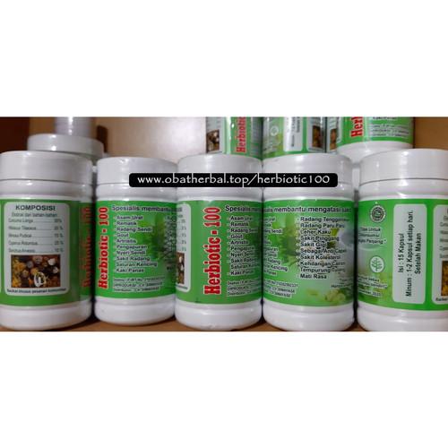 Foto Produk Herbiotic-100 Pengobatan Alternatif Berbahan Herbal Alami dari Digital Baca