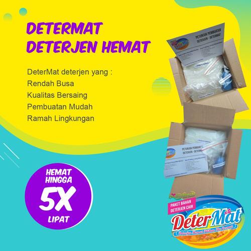 Foto Produk Bahan Deterjen Ramah Lingkungan - DeterMat dari Kaldu Alami Yogyakarta