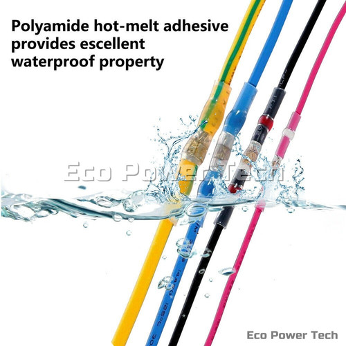 Foto Produk Heat Shrink Konektor Penyambung Kabel Isolasi Bakar solder Waterproof - Merah dari Eco Power Tech