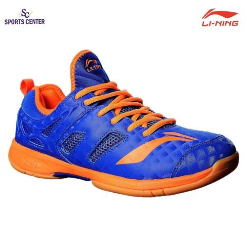 Foto Produk Clear Sale !!! Sepatu Badminton Lining Brio II AYTM091-6 Blue / Orange dari Sports Center