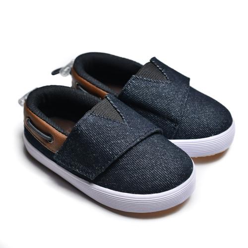 Foto Produk First Light K04 Black sepatu anak balita gratis kaos kaki - 24 dari First Light Apparel