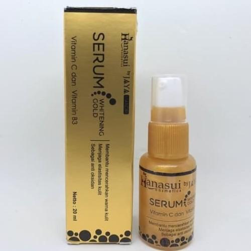 Foto Produk Hanasui Whitening Serum Gold / Serum Gold dari Rihershop cosmetics