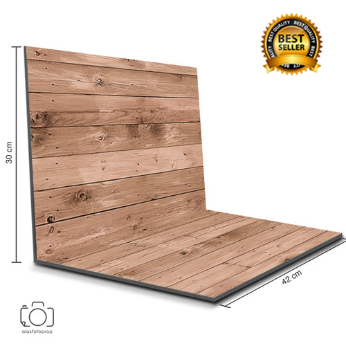 Foto Produk Alas Foto Lipat Kayu 42x30 cm / Background Foto Olshop (WDL-03) dari alasfotoprops