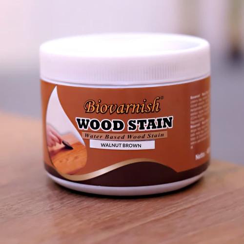Foto Produk finishing kayu waterbased woodstain biovarnish mini can dari Semesta Satu